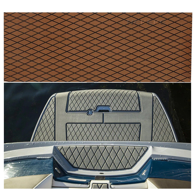 Marine Boat Flooring EVA Foam deck pad sheet Synthetic Teak