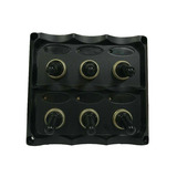 5P Fuseholder Toggle Switch Panel