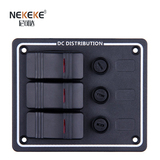 3P Aluminum Vertical Fuse switch panel