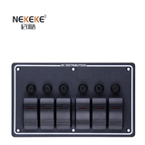 6P Aluminum Horizontal Fuse switch panel