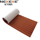 EVA Deck Sheet Dark Brown+ White Stripe