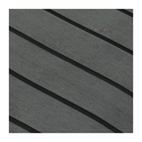 EVA Deck Sheet Dark Grey + Black Stripes