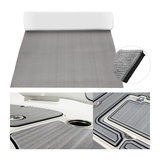 90 x 240 CM thick 6 mm thick gray marine grade Eva foam deck pad sheet