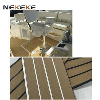 Shenzhen China Marine Boat Yacht Synthetic cheap Teak PVC Decking