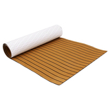 New Fashion Brown Boat decking floorin 94.5 X 35.4 Inch Non-Skid Self-Adhesive