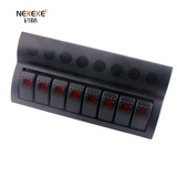 8P wave switch panel