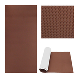 Dark Brown +Press Round Dot deck pad