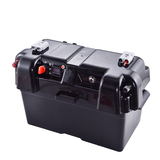 Outdoor plastic waterproof 12v battery box camping 4wd Adventure battery box