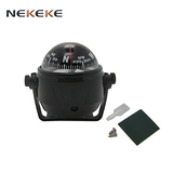 NEKEKE Car guide ball compass sea boat compass