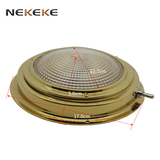 Yacht boat lights brass ceiling ceiling lamp 12V 15W
