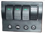 4P wave switch panel