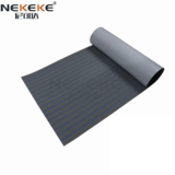 EVA Deck Sheet Dark Gray + Blue Stripe